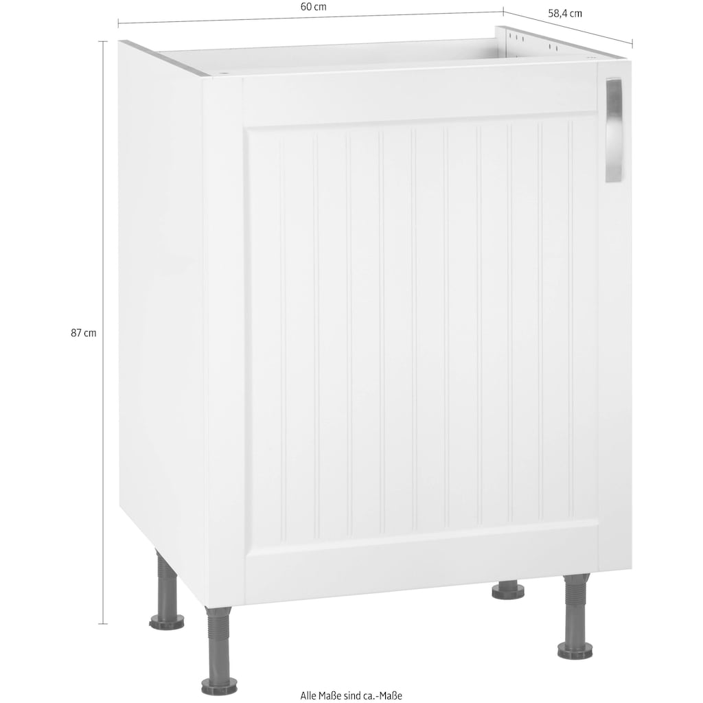 OPTIFIT Spülenschrank »Cara«, Breite 60 cm