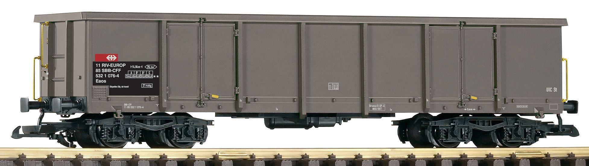 PIKO Güterwagen Offener Drehgestellwagen Eaos 106, SBB, Spur G