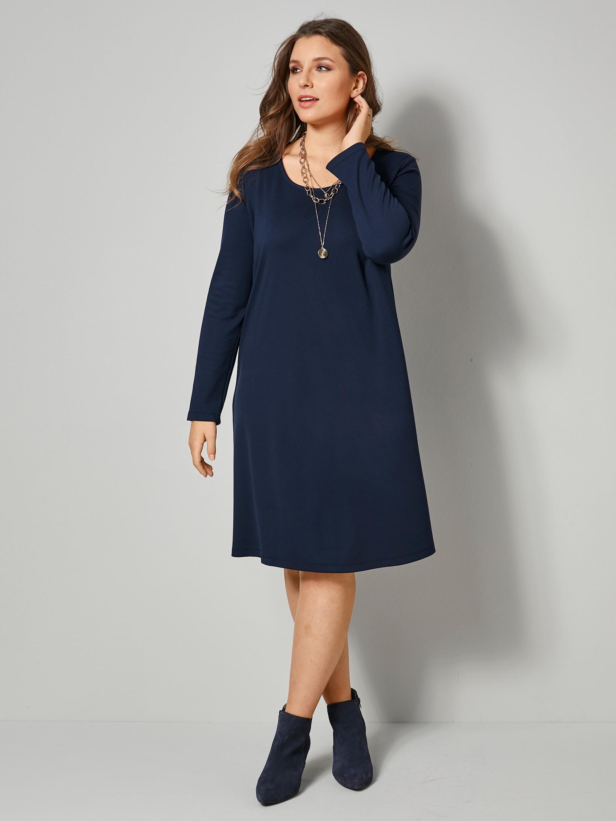 sara lindholm by happysize -  Jerseykleid, in kaschierendem A-Shape