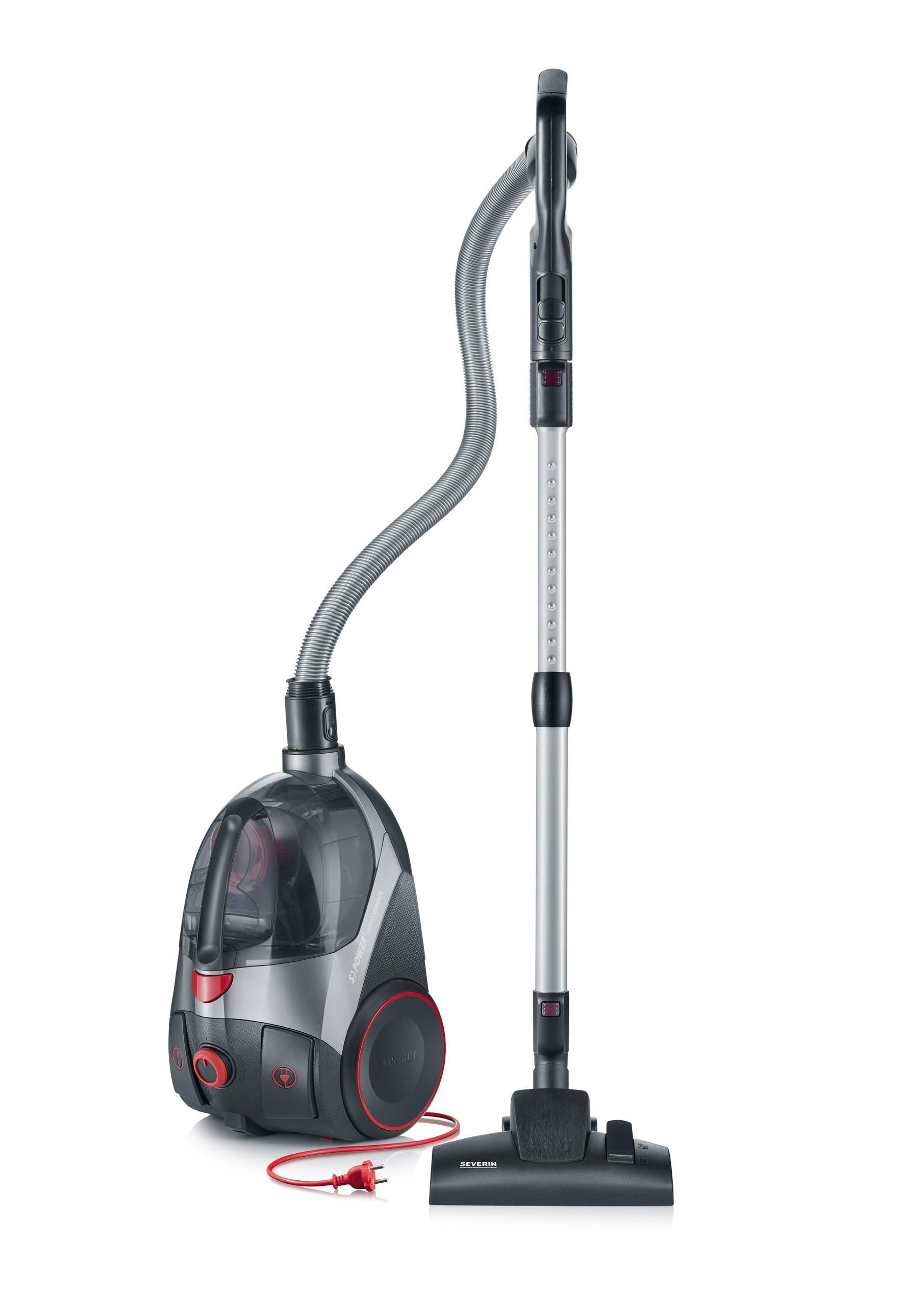 Severin Bodenstaubsauger S´Power extrem comfort - CY 7087 750 Watt beutellos   Flur & Diele > Haushaltsgeräte > Staubsauger   Grau   Severin