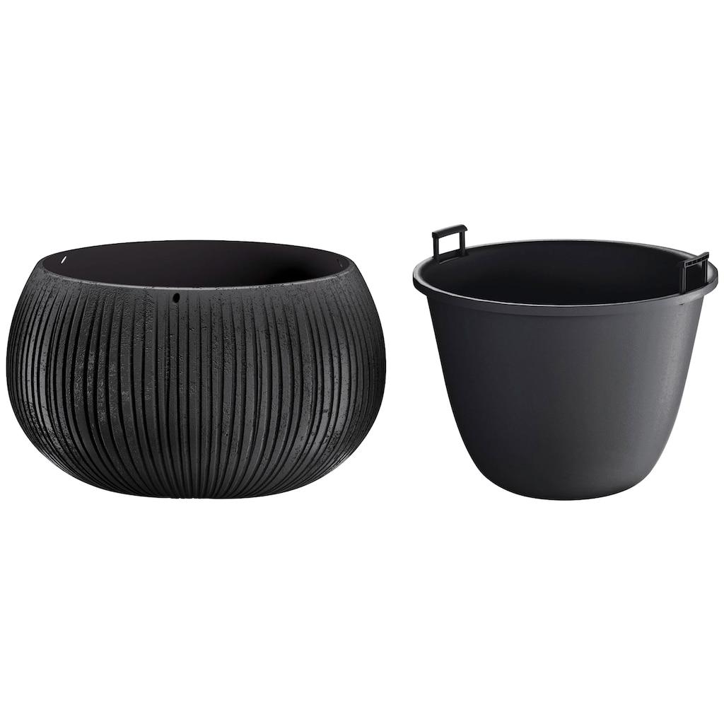 Prosperplast Blumentopf »Beton Bowl«, (1 St.), Ø37cm x 21,8cm