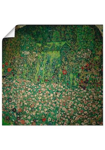 Artland Wandbild »Gartenlandschaft mit Bergkuppe (Gartenlandschaft)«, Garten, (1 St.),... kaufen