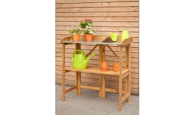 Kiehn - Holz Pflanztisch BxTxH: 98x48x97 cm, Kiefer kaufen