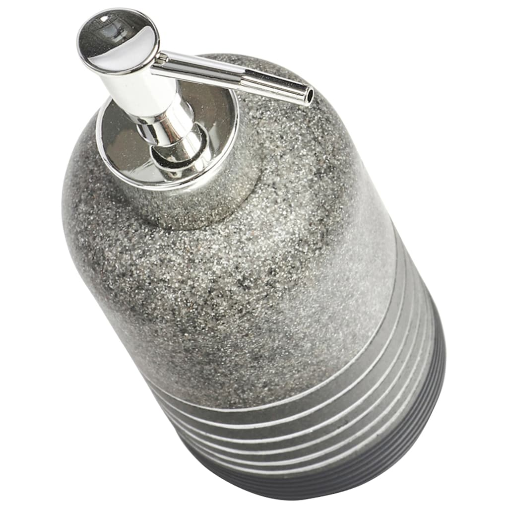 Zeller Present Seifenspender »Shine«, anthrazit
