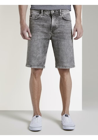 TOM TAILOR Denim Jeansbermudas »Loose Fit Jeansshort in 90er Waschung« kaufen
