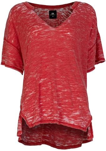LTB Kurzarmshirt »ZAGIDO«, in melierter Optik kaufen