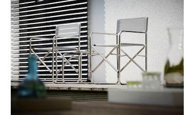 jankurtz Stuhl »fiam regiestuhl«, mit Armlehne, klappbar kaufen