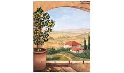 Artland Schlüsselbrett »Fenster in der Toskana« kaufen