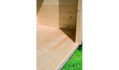 KARIBU Fußboden für Gartenhäuser für Sockelmaß 310x310 cm kaufen