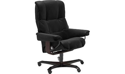 Stressless® Relaxsessel »Mayfair«, mit Home Office Base, Größe M, Gestell Braun kaufen