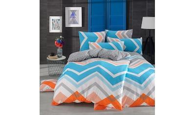TRAUMSCHLAF Bettwäsche »Kerry Mavi«, hochwertige Verarbeitung in toller Renforcé Qualität kaufen