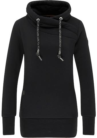 Ragwear Sweater »NESKA«, lädt zum Kuscheln ein, mit breiten Rippstrickbündchen kaufen