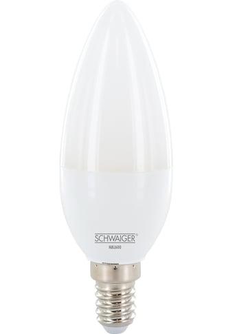 Schwaiger LED Lampe E14 dimmbar -smarte LED- Glühbirne warmweiß »Lichtsystem / Leuchtmittel« kaufen