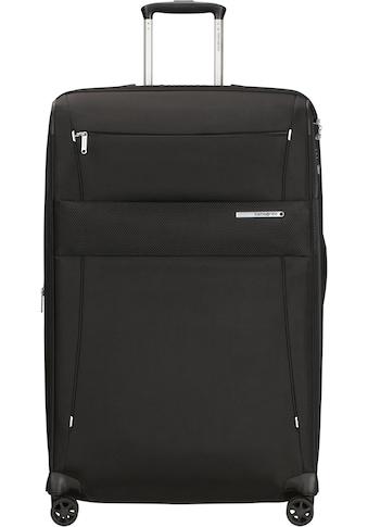 Samsonite Weichgepäck-Trolley »Duopack, 78 cm, black«, 4 Rollen kaufen