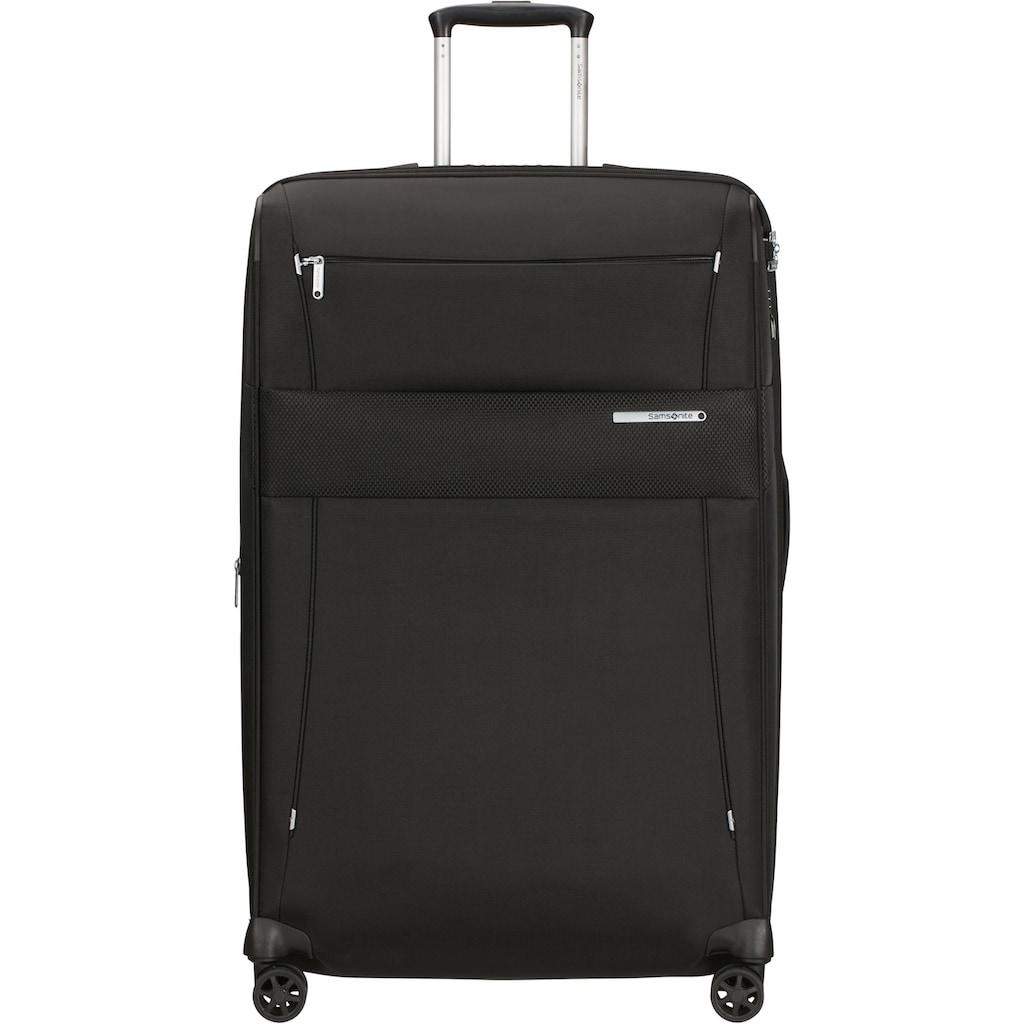 Samsonite Weichgepäck-Trolley »Duopack, 78 cm, black«, 4 Rollen