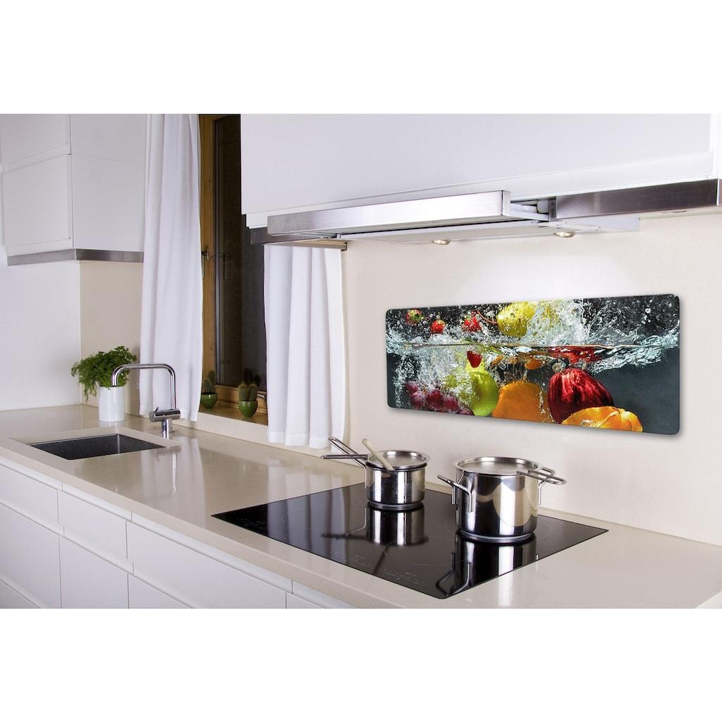 Wall-Art Glasbild »Erfrischendes Obst«, in 2 Größen