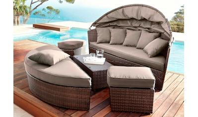 MERXX Schutzhülle »Multi Lounge«, Loungebett, (L/B/H) 177x162x83 cm kaufen