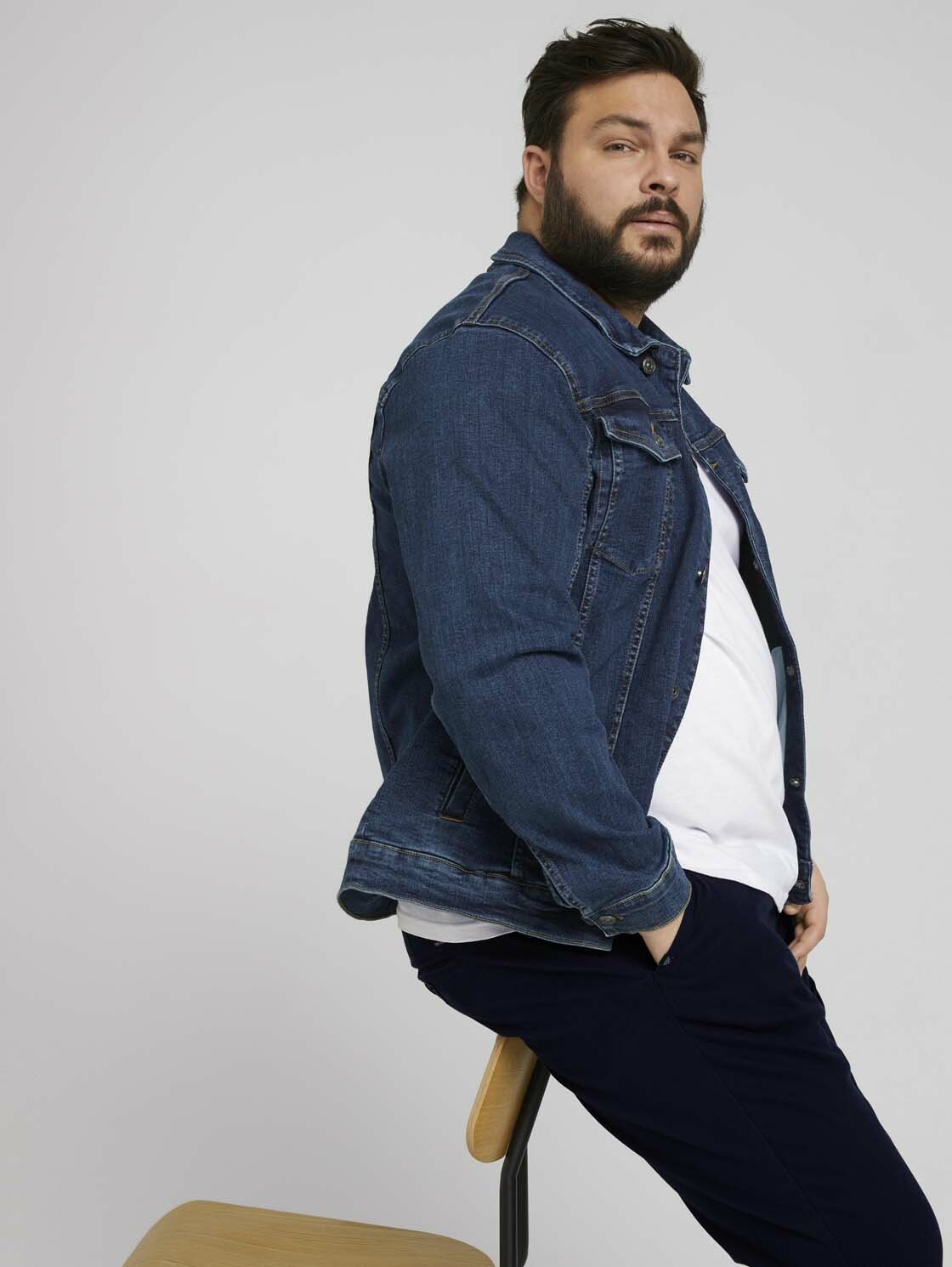 tom tailor men plus -  Jeansjacke Trucker-Jeansjacke