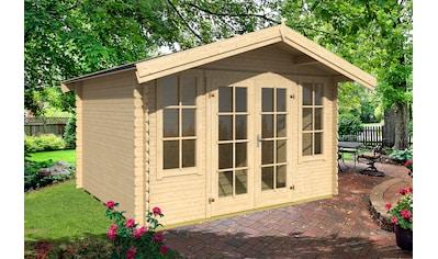 OUTDOOR LIFE PRODUCTS Gartenhaus »Kalmar 280«, BxT: 381x358 cm, inkl. Fußboden kaufen