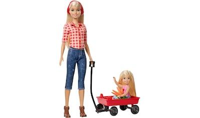 """Mattel® Anziehpuppe """"Barbie, Spaß auf dem Bauernhof Barbie + Chelsea"""" kaufen"""