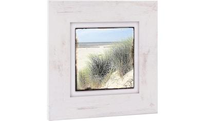 Home affaire Holzbild »Strand mit Gräsern« kaufen