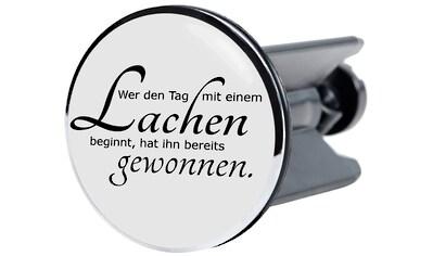 SANILO Stöpsel »Lachen«, für Waschbecken, Ø 4 cm kaufen