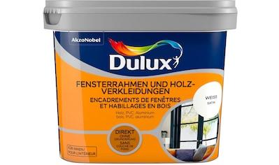 Dulux Holzlack »Fresh Up«, für Fensterrahmen und Holzverkleidungen, weiß, 0,75 l kaufen