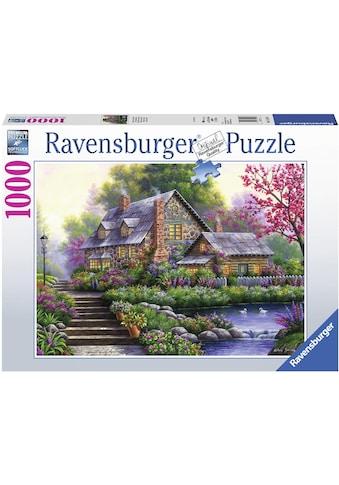 """Ravensburger Puzzle """"Romantisches Cottage"""" kaufen"""