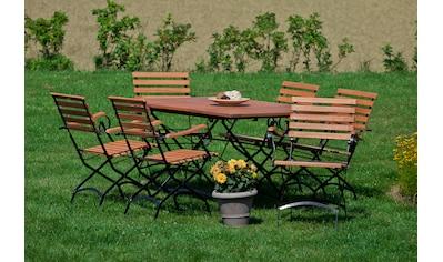 MERXX Gartenmöbelset »Schloßgarten« kaufen
