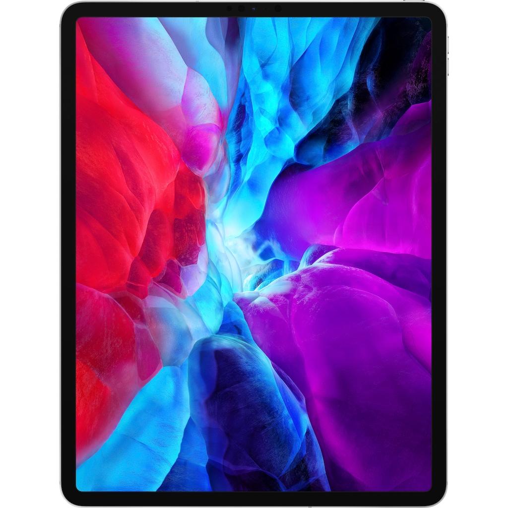 Apple Tablet »iPad Pro 12.9 (2020) - 256 GB Cellular«, Kompatibel mit Apple Pencil 2