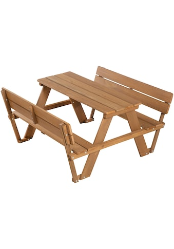 roba® Kindersitzgruppe »PICKNICK for 4' Outdoor +«, mit Rückenlehne kaufen