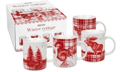"""Könitz Tasse """"Winter Cottage"""" (4 - tlg.) kaufen"""