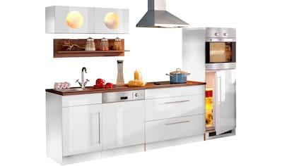 HELD MÖBEL Küchenzeile »Keitum«, mit E-Geräten, Breite 270 cm, mit Induktionskochfeld kaufen