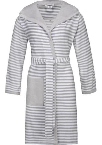 Esprit Damenbademantel »Striped Hoody«, (1 St., mit Gürtel) kaufen