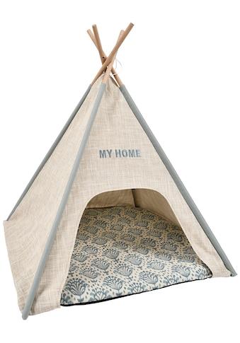 HEIM Katzenzelt »Tipi-Zelt My Home«, Katzenhöhle, BxLxH: 68x68x80 cm kaufen