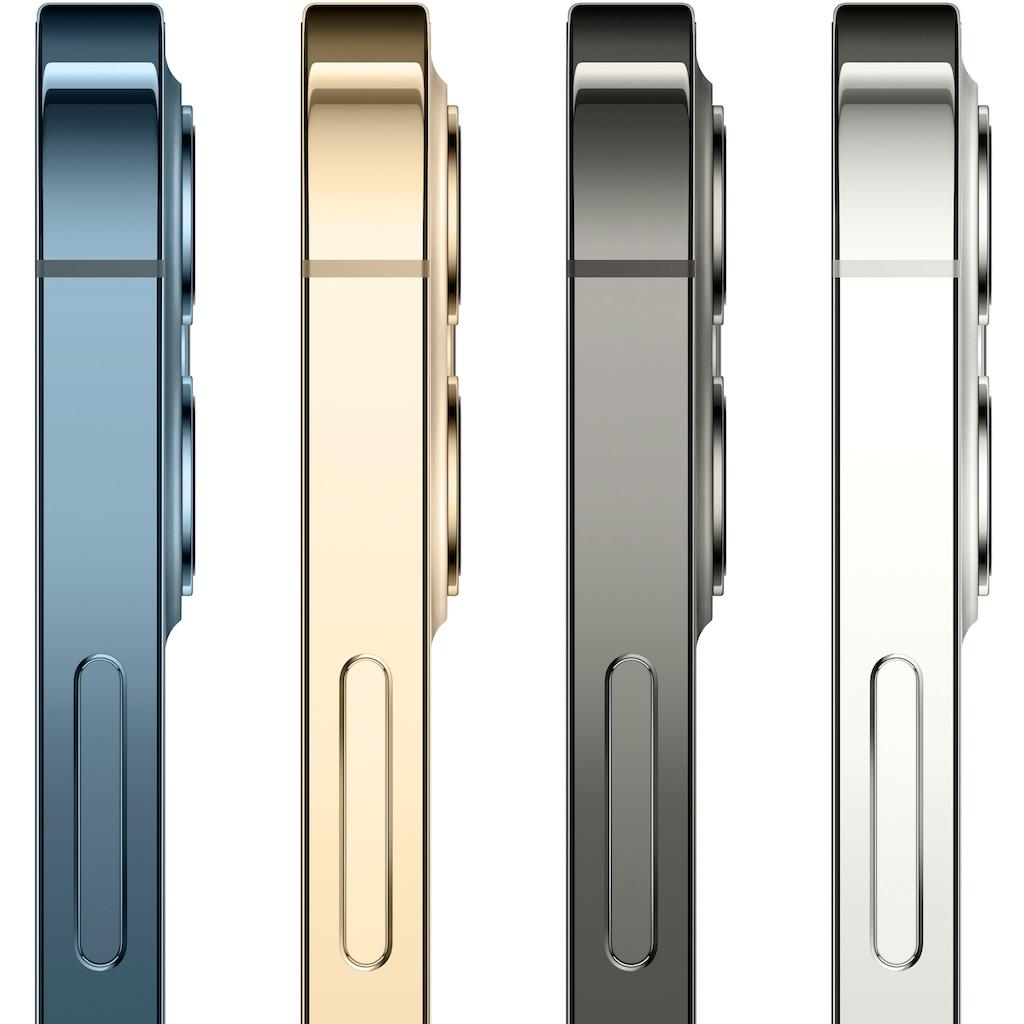 """Apple Smartphone »iPhone 12 Pro«, (15,5 cm/6,1 """" 256 GB Speicherplatz, 12 MP Kamera), ohne Strom Adapter und Kopfhörer, kompatibel mit AirPods, AirPods Pro, Earpods Kopfhörer"""