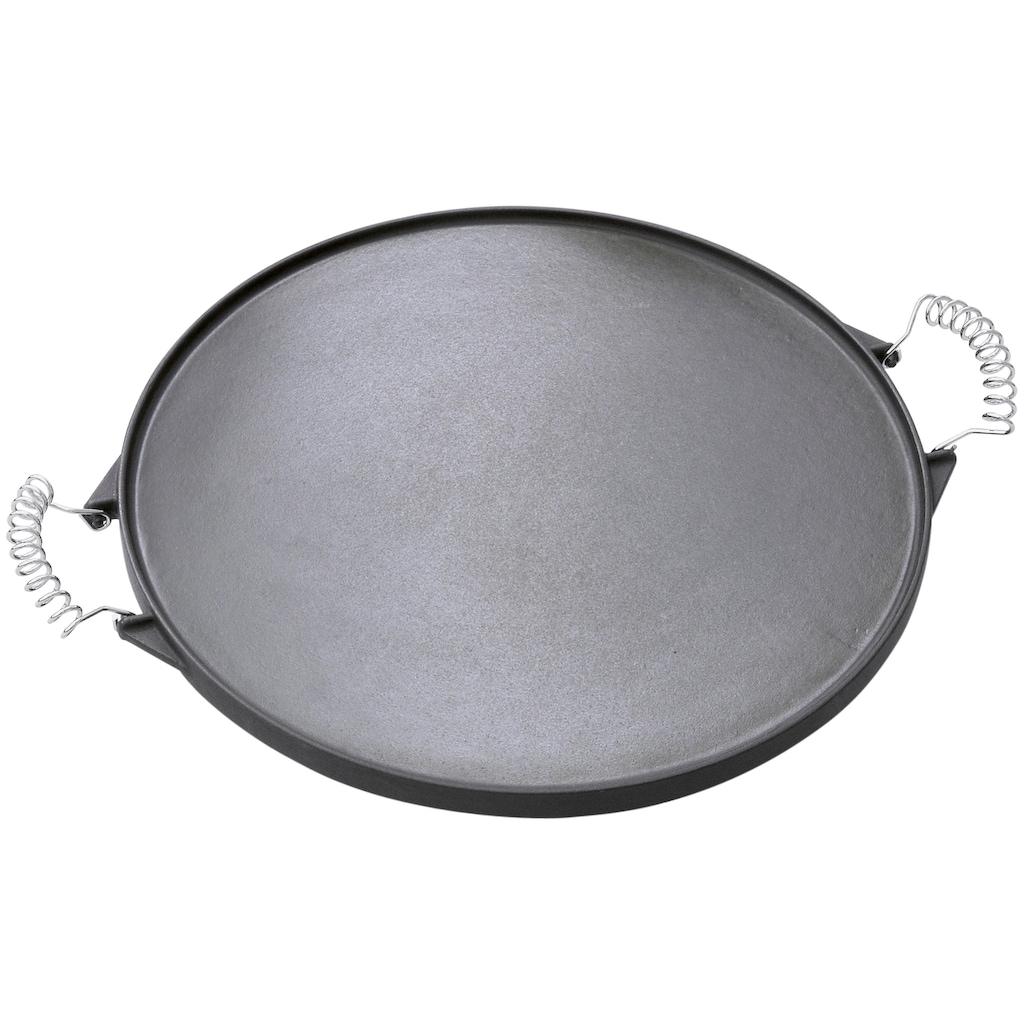 OUTDOORCHEF Grillplatte, Gusseisen-Emaille, (1 St.), Ø 33 cm