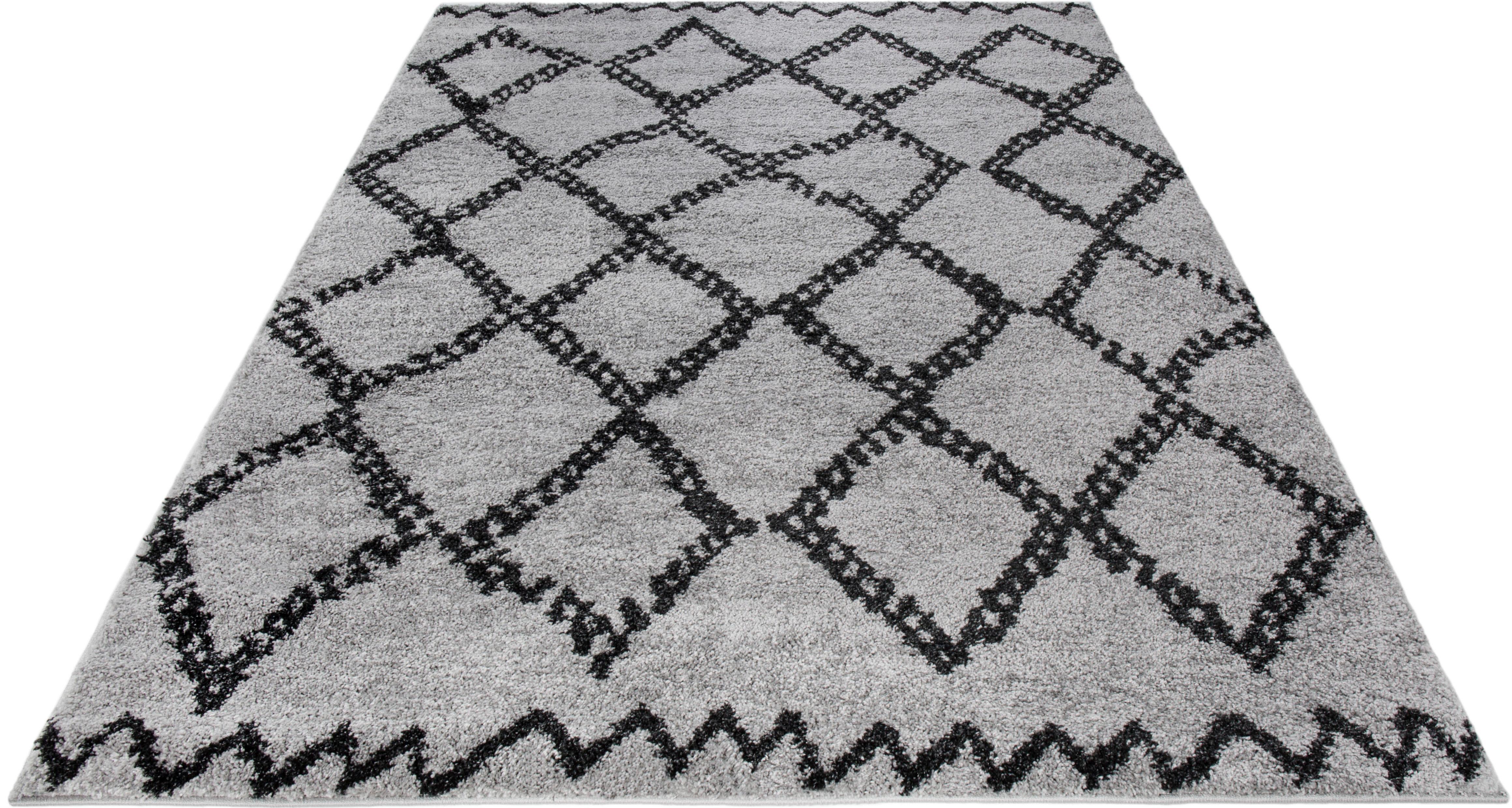 Teppich Mia Wohnidee rechteckig Höhe 24 mm maschinell gewebt