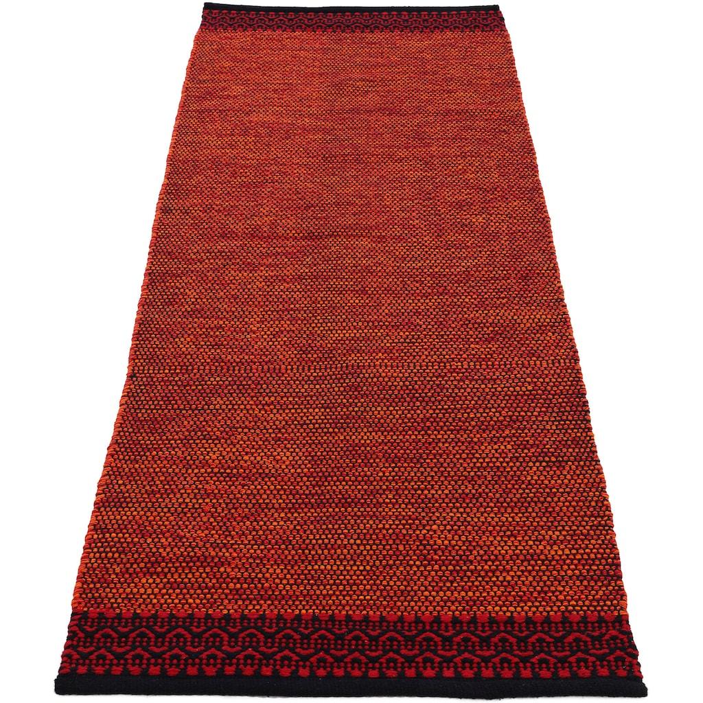 carpetfine Läufer »Kelim Mia«, rechteckig, 6 mm Höhe, reine Baumwolle