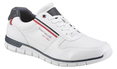 TOM TAILOR Sneaker, mit Kontrastbesätzen kaufen