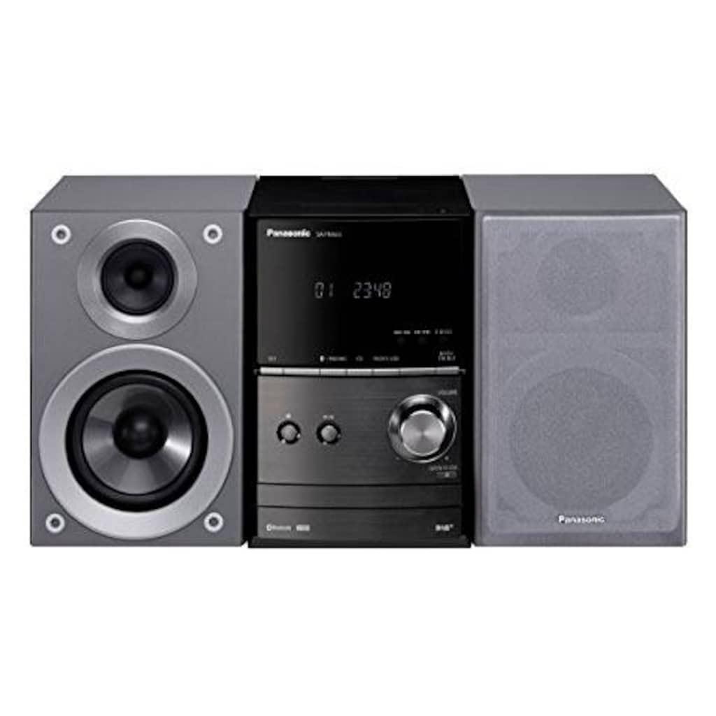 Panasonic Kompaktanlage »SCPM602«, (Bluetooth FM-Tuner mit RDS-Digitalradio (DAB+) 40 W)