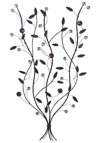 HOFMANN LIVING AND MORE Wanddekoobjekt »Zweige«, Wanddeko, aus Metall kaufen