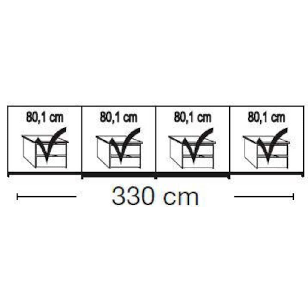 WIEMANN Schwebetürenschrank »Kufstein«, mit Glas