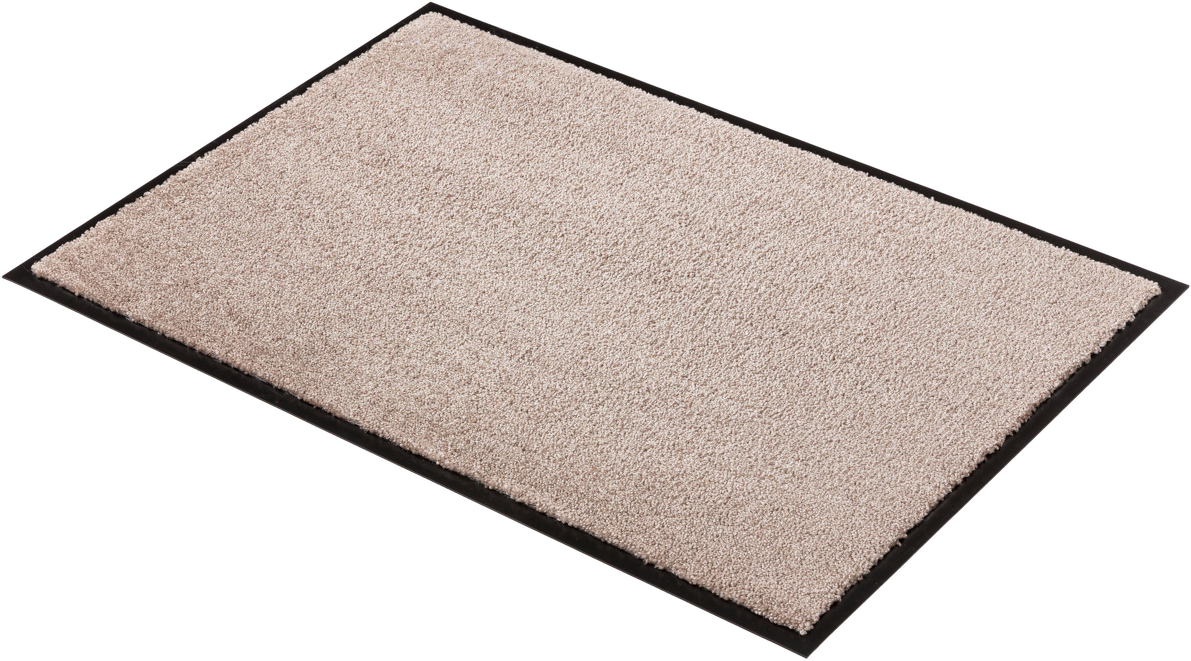 Fußmatte Miami Uni SCHÖNER WOHNEN-Kollektion rechteckig Höhe 7 mm maschinell getuftet