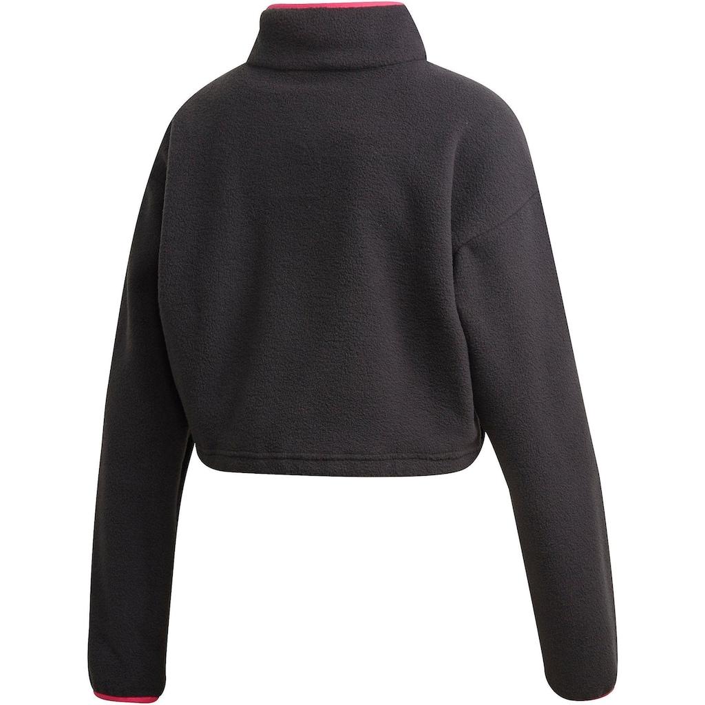 adidas Originals Fleeceshirt »HZ POLAR CROP TOP D«
