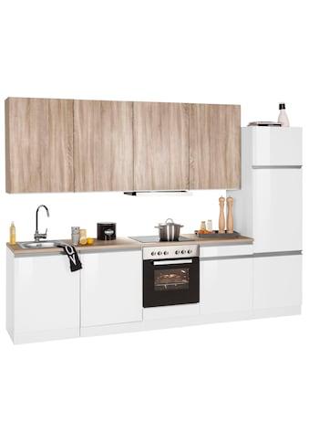 HELD MÖBEL Küchenzeile »Ohio«, mit E-Geräten, Breite 300 cm kaufen