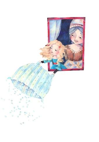 Wall-Art Wandtattoo »Märchenhaft Frau Holle« kaufen