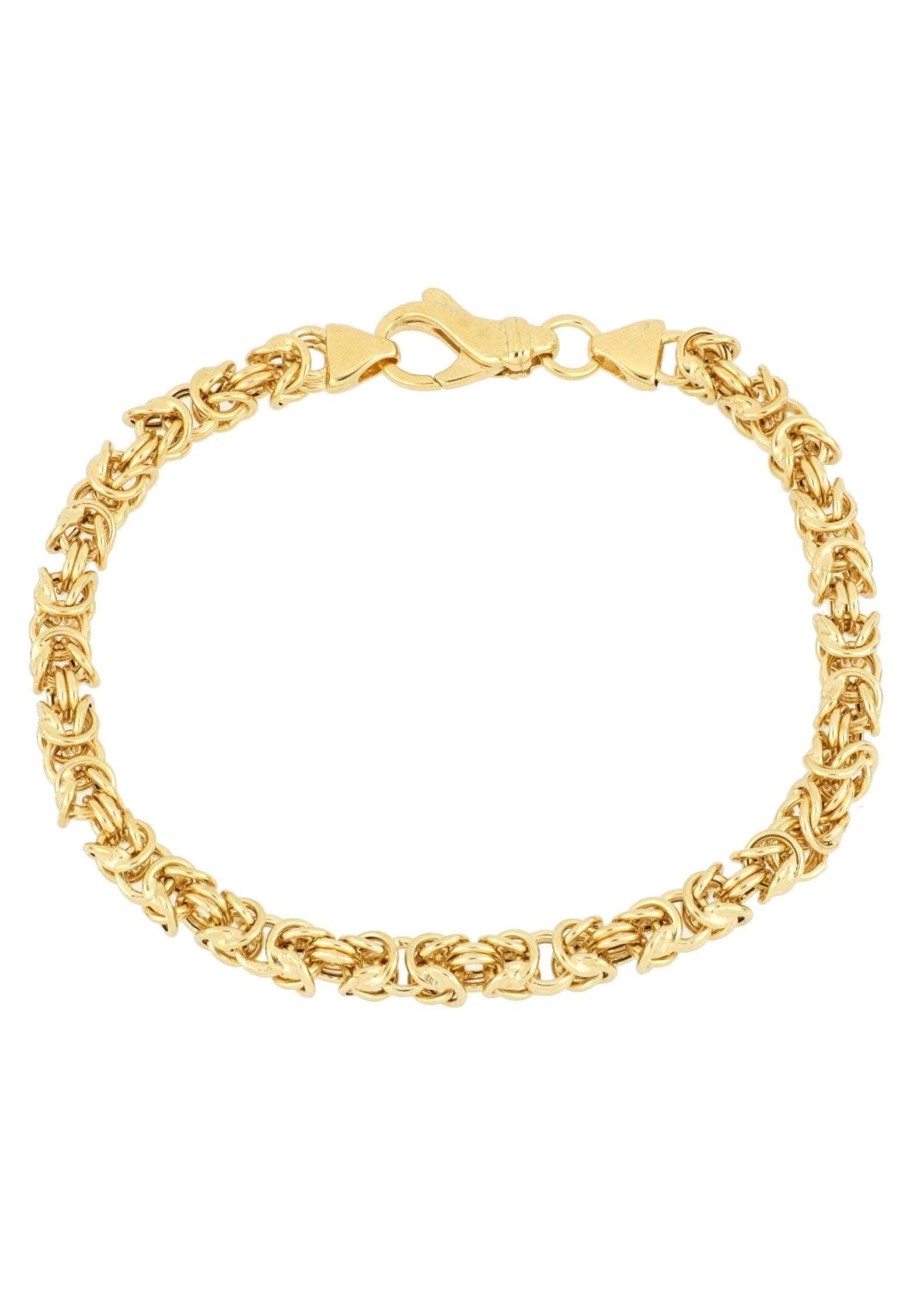 Firetti Armband in Königskettengliederung 50 mm vergoldet glanz quadratisch   Schmuck > Armbänder > Goldarmbänder   Firetti