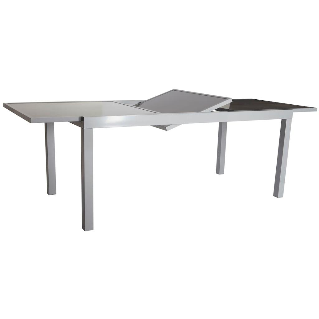 MERXX Gartentisch »Amalfi«, Aluminium, ausziehbar