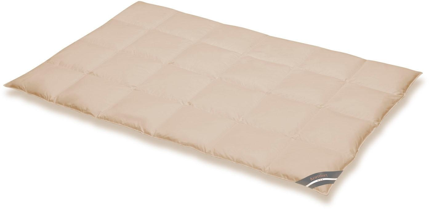 Daunenbettdecke Komfort SPESSARTTRAUM warm Füllung: 60% Daunen 40% Federn Bezug: 100% Baumwolle